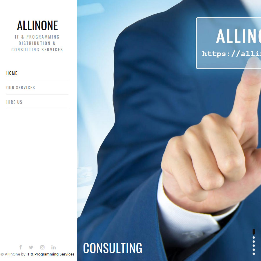 AllInCor. IT & Programming Distribution & Consulting Services