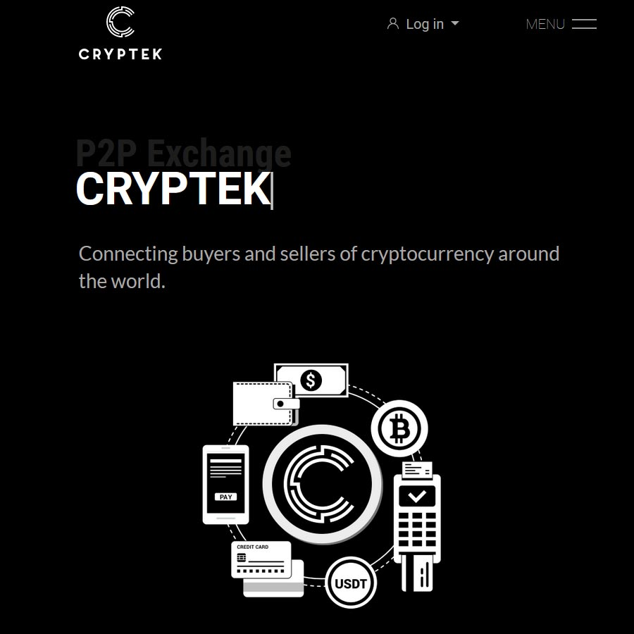 Cryptek. Cryptocurrency Exchange and CryptoWallet, Services for cryptomining